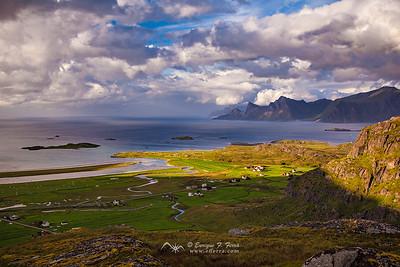 Sandelva, Islas Lofoten, Noruega