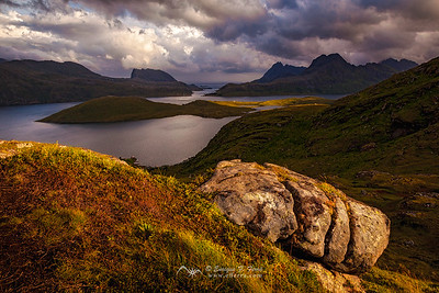 Golden light, Islas Lofoten, Noruega