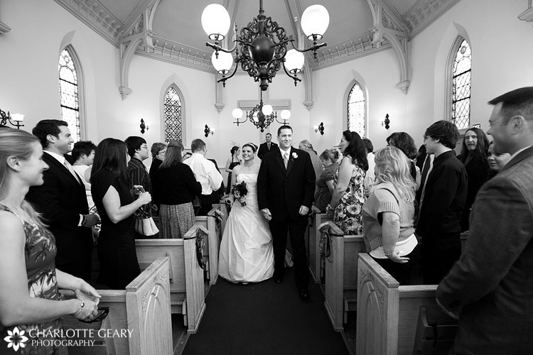 Evans Chapel wedding