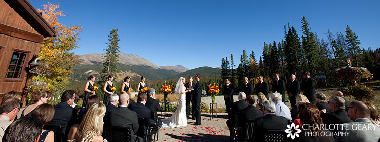 Ten Mile Station wedding
