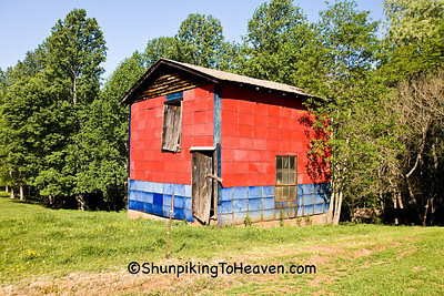 Colorful Tobacco Packing House, Patrick County, Virginia