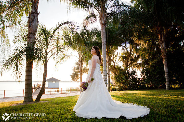 Bride at Town Manor in Florida