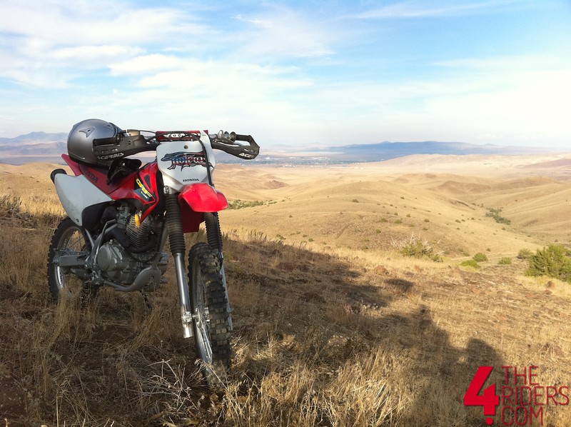 crf150 fernley mountains radio tower