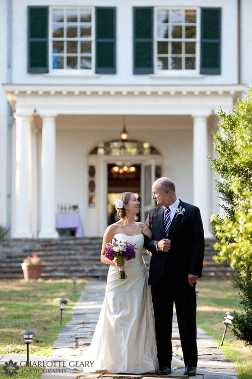 Rust Manor House wedding