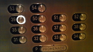 Did you know the Aria Hotel has no floors numbered in the 40's? It is because 4 is an unlucky number to Chinese