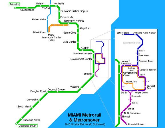The Miami Metromover