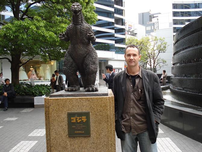 Godzilla and I - Tokyo