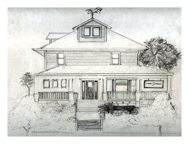 drawing of Campbell Salgado Studio