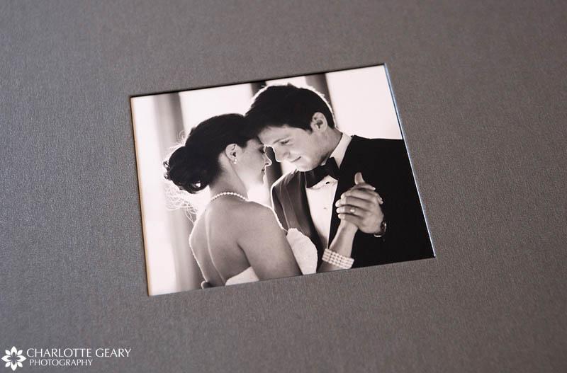 Silver wedding album box