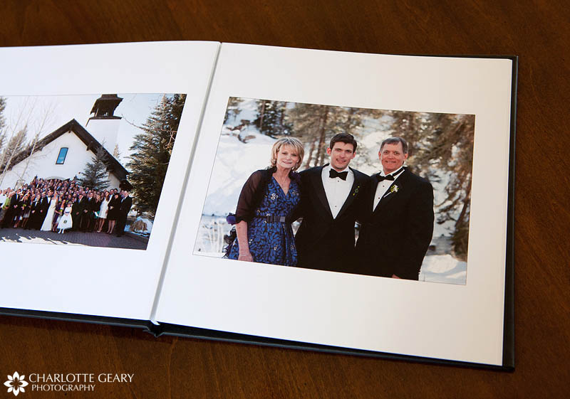 Press printed wedding album