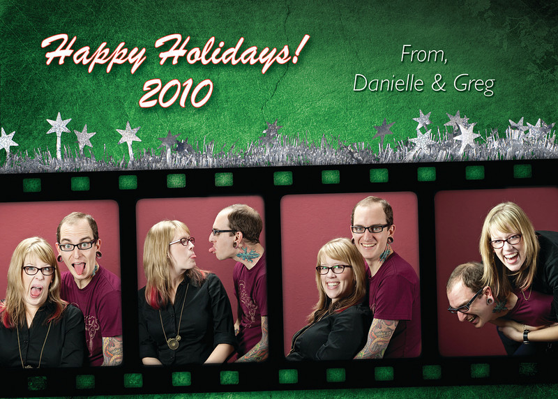 Greg & Danielle's Holiday Card