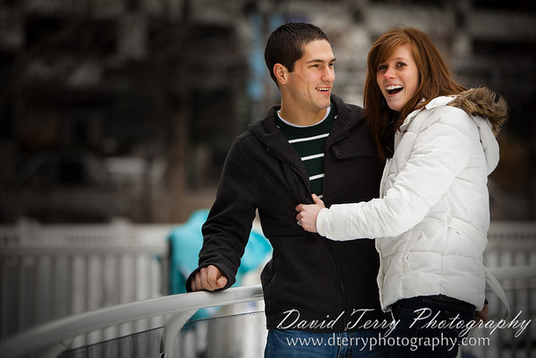 ice skating engagement gallivan center ice rink
