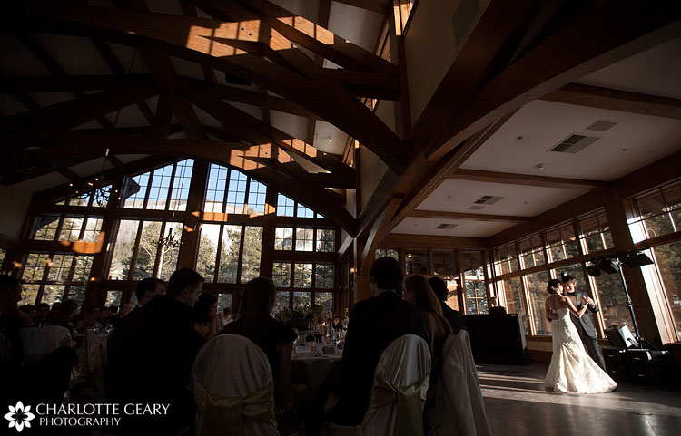 Donovan Pavilion wedding