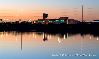 Philadelphia International Airport at Dawn