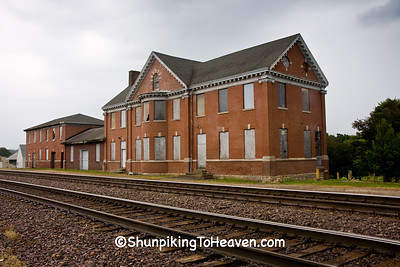Chicago Northwestern Depot, Built 1894, Belle Plaine, Iowa