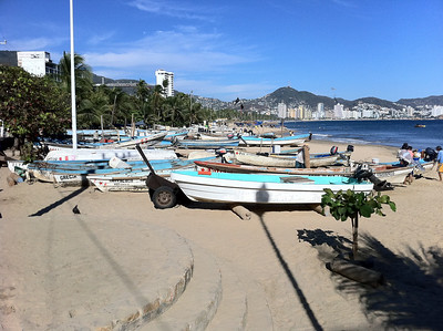 Boats in Acapulco