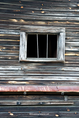 Window of Blackman's Mill, Sampson County, North Carolina