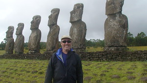 Me on Easter Island