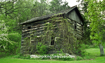 Log Cabin Built by Andrew Ringelstetter, Sauk County, Wisconsin