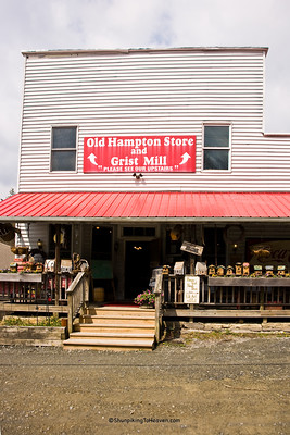 Old Hampton General Store, Avery County, North Carolina