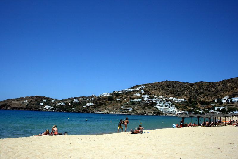 Ios Beach Greek Island