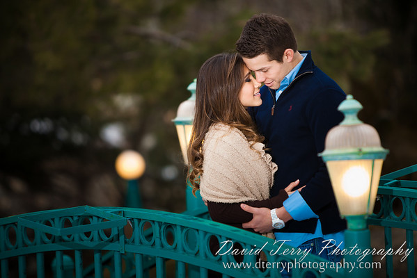 David Terry Photography - David and Miriam - Engagements - La Caille Restaurant