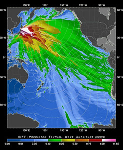 Wave size predictive map released on March 10