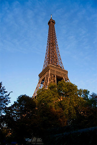The Eiffel Tower, Paris, France