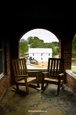 Murray's Mill from the Porch of the John Murray House, 1913, Catawba County, North Carolina