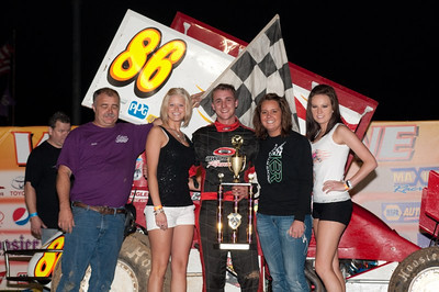 Bellm, Crane, Imhoff, Thacker & Hall take wins at Lake Ozark Speedway!