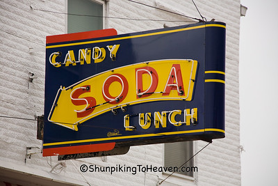 The Wilton Candy Kitchen, Muscatine County, Iowa