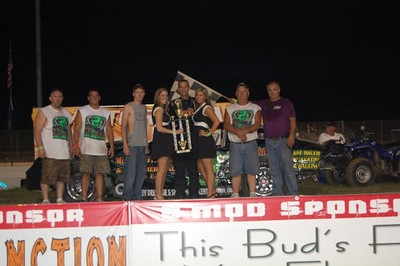 Imhoff, Nueman, Russell, Floyd & Winn take victories at Lake Ozark Speedway!