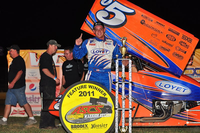 Loyet, Beebe and Crane take Night 1 of Lake Ozark Speedway 360 Nationals