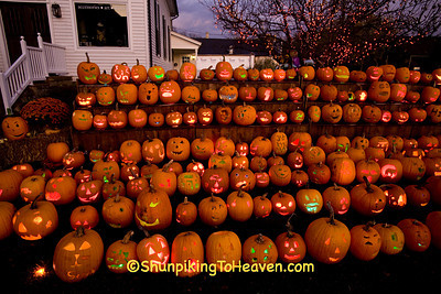 Pumpkins at The Steeple, Delafield, Wisconsin