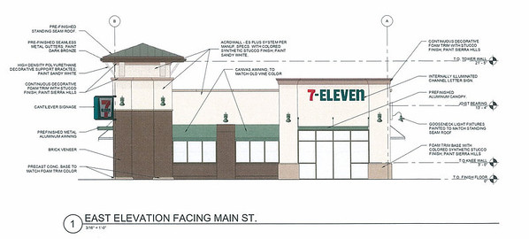 Recently approved 7 eleven design
