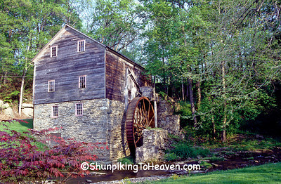 Garvine Mill, Grist and Cider Mill, Built Early 1800s, York County, Pennsylvania