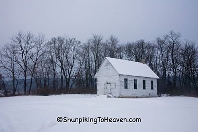 One-room Schoolhouse, Iowa County, Wisconsin