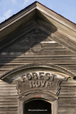 Forest Grove School, 1873, Scott County, Iowa