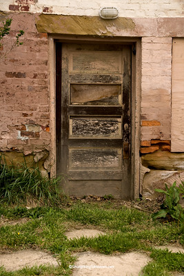 Door on Historic Home, Belmont County, Ohio