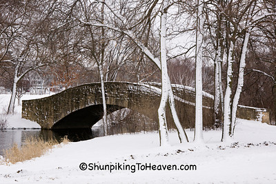 The A. G. Zimmerman Bridge, 1929, Tenney Park, Madison, Wisconsin