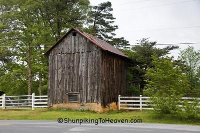 Tobacco Barn, Guilford County, North Carolina