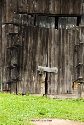 Door of Mail Pouch Barn, Carter County, Kentucky