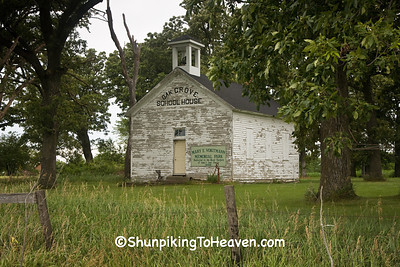 Oak Grove School House, Iowa County, Iowa