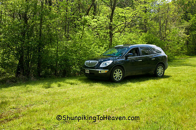 James, Long, Dark, and Handsome Buick Enclave, Perry County, Ohio