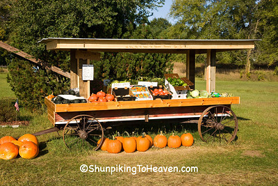 Vegetable Stand, Marquette County, Wisconsin