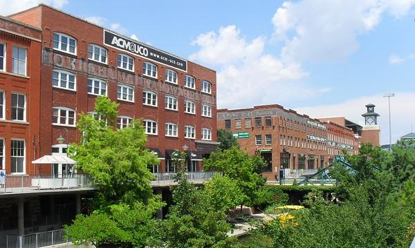 Downtown Revitalization Oklahoma City Metro Jacksonville