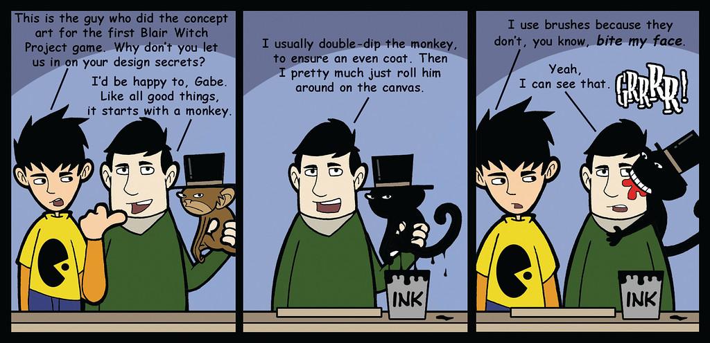When Monkeys Attack!