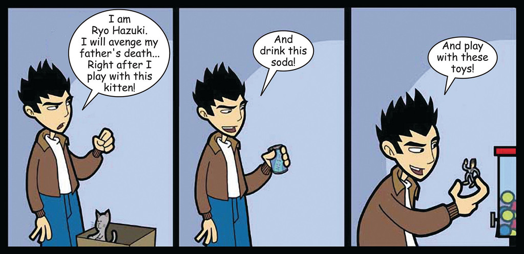 Shenmue: Wow!