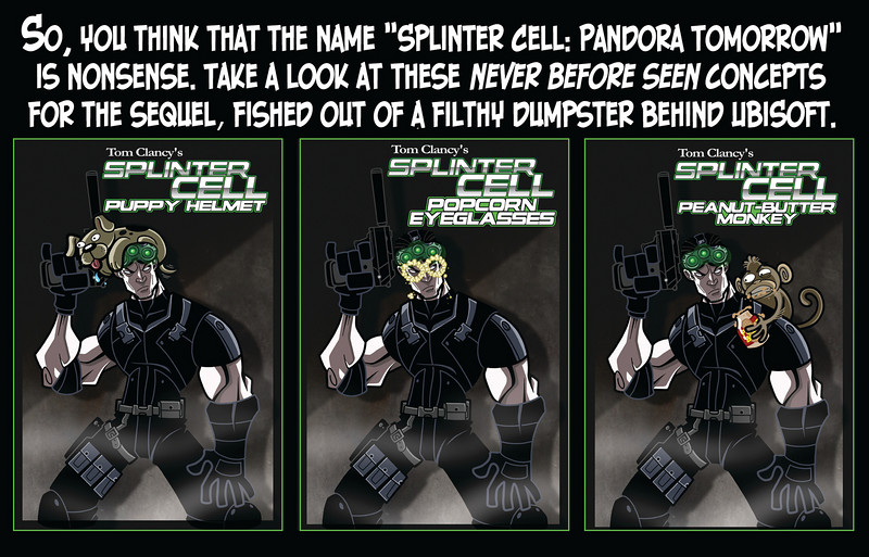 Splinter Cell:  Adjective Noun