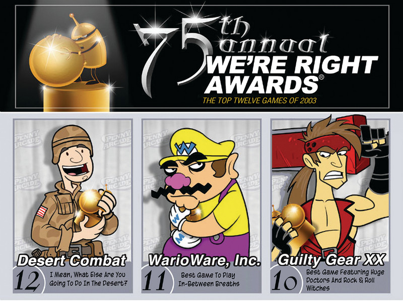 The 75th Annual We're Right Awards